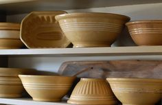yellow ware collection