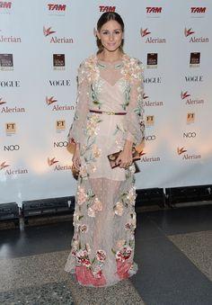 Blush floral Valentino dress