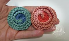 Tutorial flor deco rose patron gratis crochet ganchillo free pattern flower