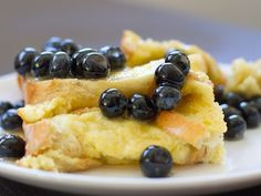 Honey and Lavender Baked French Toast
