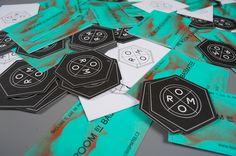 The Room by Basmatee | #Business #Card #letterpress #creative #paper #bizcard #businesscard #corporate #design #visitenkarte #corporatedesign < repinned by www.BlickeDeeler.de | Have a look on www.LogoGestaltung-Hamburg.de