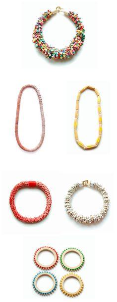 Iris Tsante jewelry 2010 http://www.iris-tsante.com/iris-tsante/work/work.html #jewelry #necklaces #bangles