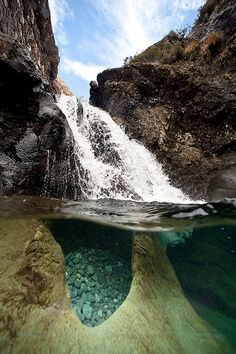 Fairy pools, Glen brittle, Isle of skye, Scottland
