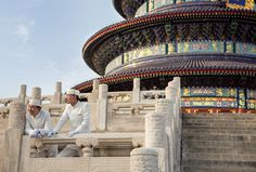 Beijing - The Temple of Heaven, one of the most richly populated historical temples of the city.  Find out more and plan your trip here: http://bit.ly/1d0lvK2