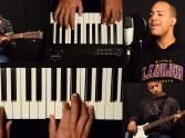 One-man Band Sings 'Oceans'