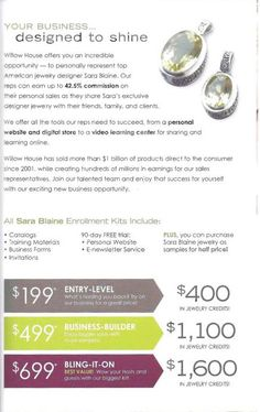 A Sparkling Business Opportunity from Sara Blaine! Join my team for the laughs, fun, high earning potential and jewelry!!!! Such a fun way to earn an income and meet new people!  LauraDelaney.WH@gmail.com or (717) 489-2021