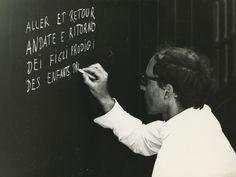 Jean-Luc Godard on the Set of L'Amore (Éloge de l'amour), 1968