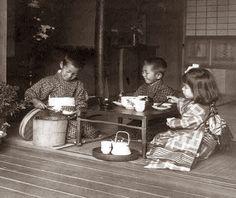 tea parti, november, earli 1900s, parties, children