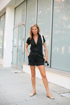 I see no reason why this couldn't look equally great on a man. Summer jumpsuits anyone?  On The Street……..Indian Summer, New York City « The Sartorialist