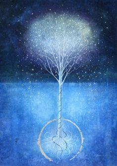 arbol, arbol de la vida, wicca, bruja, celta, druida