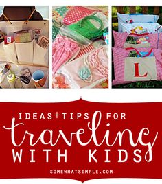 14 tips and tricks on making traveling with kids so much easier! These ideas are fabulous!