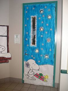 "I love Snoopy ""O) don't miss the snowy window scene almost out of shot"
