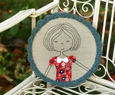 Pretty girl in a hoop
