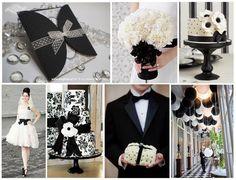 Black wedding theme