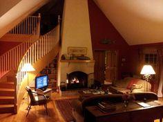 MAINE - Bufflehead Cove Inn beautiful view of the living room