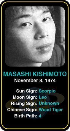 Celeb #Scorpio birthdays: Masashi Kishimoto's astrology info! Sign up here to see more: https://www.astroconnects.com/galleries/celeb-birthday-gallery/scorpio?start=90  #astrology #horoscope #zodiac #birthchart #natalchart #masashikishimoto #naruto