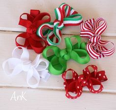 Annie Christmas Baby Bow
