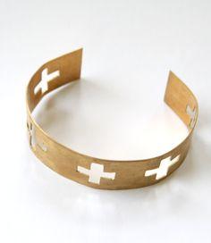 @blydesign  Cross Cuff