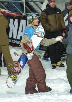 Famous snowboarders have made snowboarding what it is today
