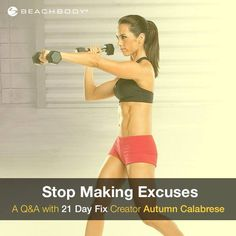 This is such an AWESOME workout & the 21 Day deadline is perfect for a bride to be!  http://soreyfitness.com/fitness/21-day-fix-autumn-calabrese/