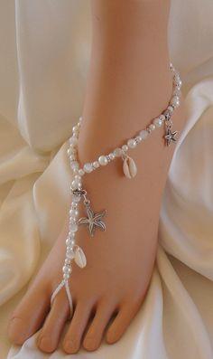 #Starfish and #SeaShell #Barefoot