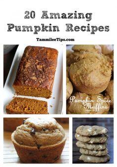 20 Amazing Pumpkin Recipes