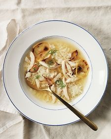 Roasted Lemon Chicken Soup