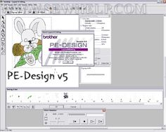 Brother PE-Design Embroidery Software