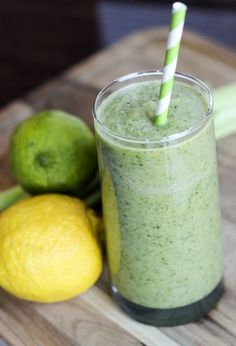 Clean out your system with this green energy detox drink.