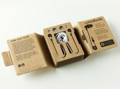 Woodbuds are earphones made from sustainable sourced wood and bio-plastic