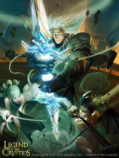 Maestro de la espada evolved legend of the cryptids