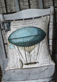 hot air balloon bedroom, cotton pillow, balloon pillow, decorative pillows, burlap pillows, cushion, pillow covers, hot air balloons, vintage hot air balloon