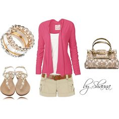 """blushing summer"" by shauna-rogers on Polyvore"