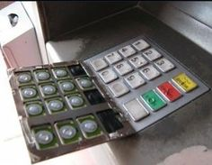 Scam thieves use on ATM machines