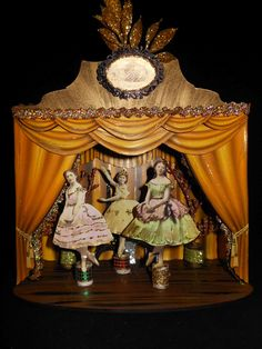 By Gerri Herbst using the Theatre Shrine Kit from Retro Café Art Gallery