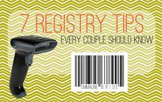 7 wedding registry tips every couple should know (via emmaline bride)