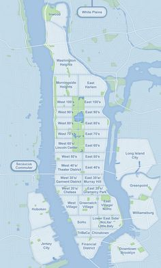 Nyc On Pinterest Manhattan Maps And Nyc