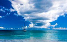 Ocean, Seychelles, Landscape