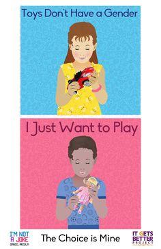 Quit forcing gender segregation on children's toys!