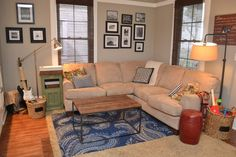 A warm and cozy living room.