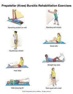 Prepatellar (knee) Bursitis Rehabilitation Exercises