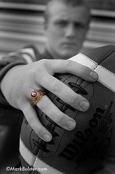 Senior Football senior portrait, class ring, footbal senior, sport, graduat, senior pictures football, pictur idea, basebal senior, photographi