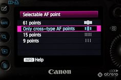Canon 5d Mark iii settings