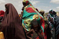 Refugee camp in Kenya
