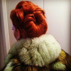 roll, hair colors, redhead