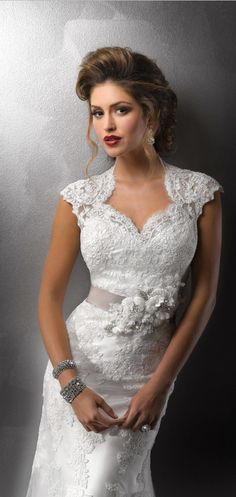 """#Lace #WeddingDress 