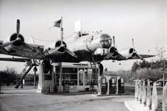 Great story! B-17 Gas Station