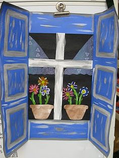 matiss window, art lesson