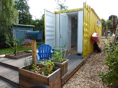 Only in Seattle would someone turn a shipping container into a guest house...