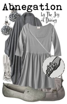 Affordable outfit inspired by the Abnegation faction from the movie Divergent! -- Non-Disney inspir outfit